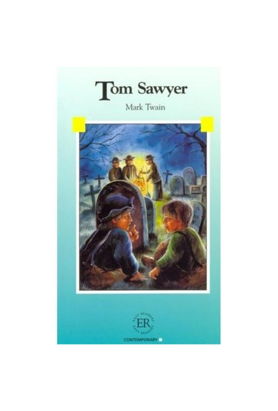 Tom Sawyer (Easy Readers Level - B) 1200 Words-Mark Twain