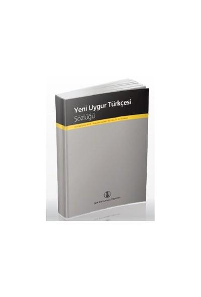 Yeni Uygur Türkçesi Sözlüğü-Emir Necipoviç Necip