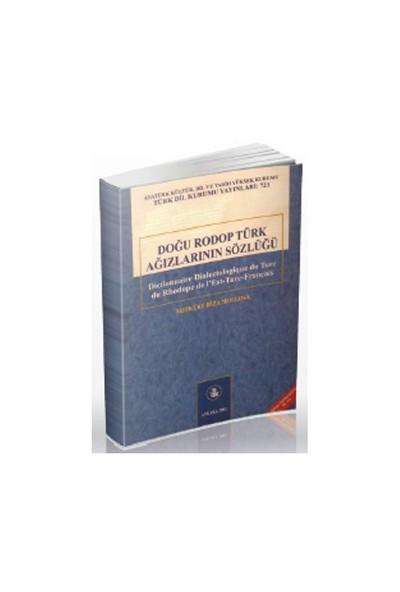 Doğu Rodop Türk Ağızlarının Sözlüğü-Mefküre Rıza Mollova