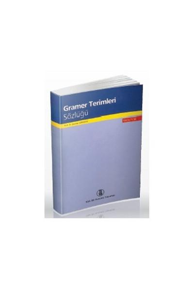Gramer Terimleri Sözlüğü