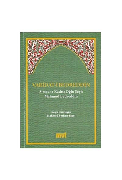 Varidat-İ Bedreddin-Şeyh Mahmud Bedreddin