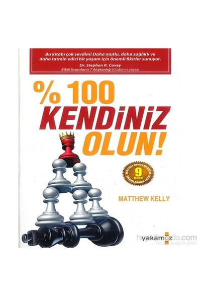 % 100 Kendiniz Olun!-Matthew Kelly