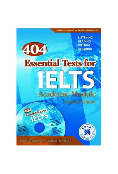 404 Essential Tests for IELTS with MP3 CD - Vickie pastellas