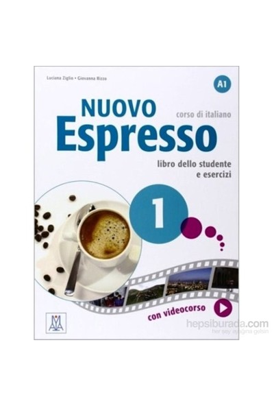 Nuovo Espresso 1 (A1) İtalyanca temel seviye - Luciana Ziglio