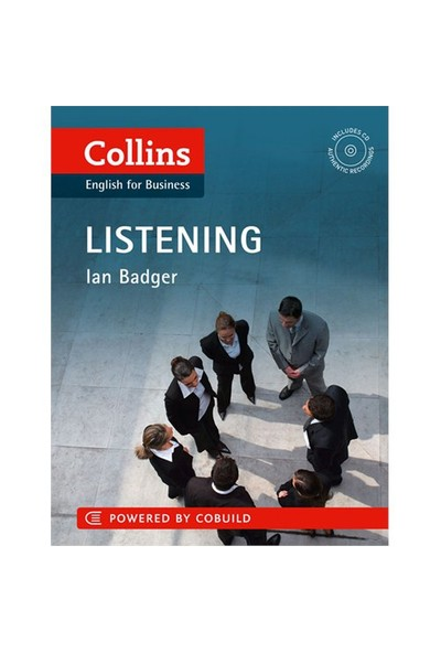 Collins English For Business: Listening +Cd-Ian Badger