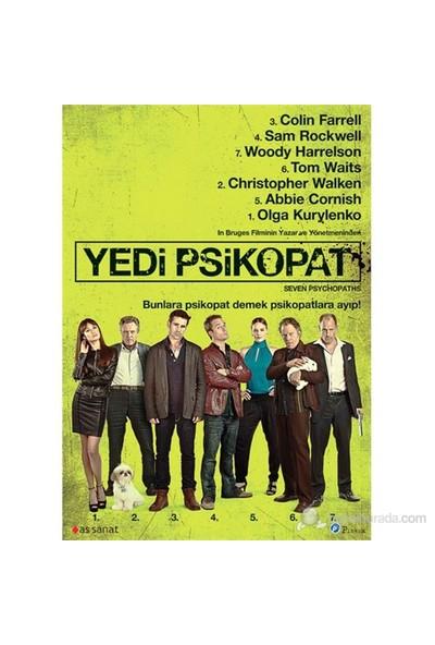 Seven Psychopaths (Yedi Psikopat) (DVD)