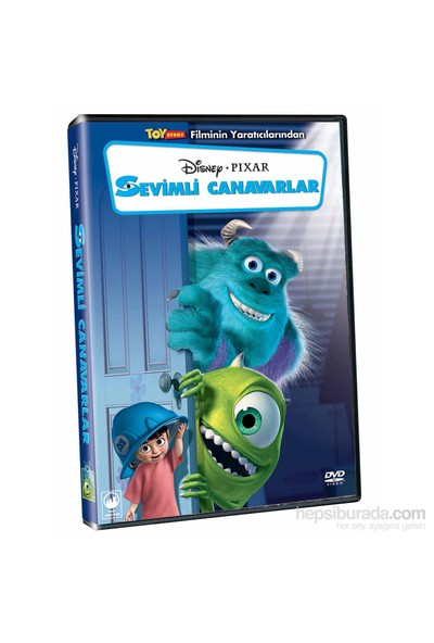 Monsters Inc. (Sevimli Canavarlar) (DVD)