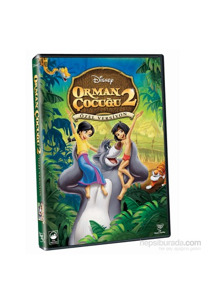 The Jungle Book 2 (Orman Çocuğu 2) (DVD)