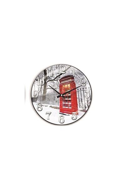 Time Gold Sera Duvar Saati-30cm TG188D9