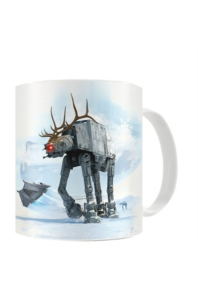 Sd Toys Star Wars: At-At Reindeer Christmas Mug Kupa Bardak