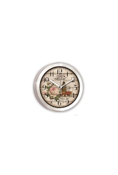 Time Gold Alüminyum Mıknatıslı Buzdolabı Saati-11cm TG191K9