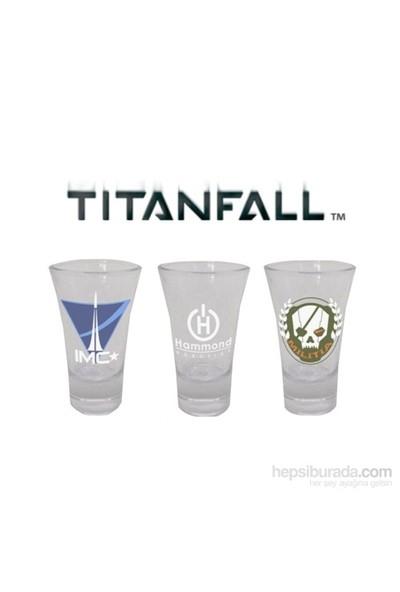 Titanfall Shotglasses Set Of 3 Espresso Shot Bardağı Seti