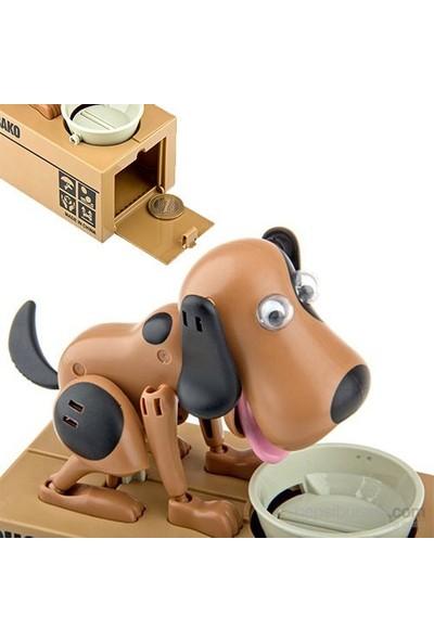 Para Yiyen Köpek Kumbara Choken Bako