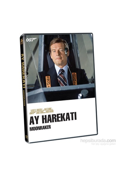 007 James Bond - Moonraker - Ay Harekatı - James Bond (SERİ 11) ( DVD )