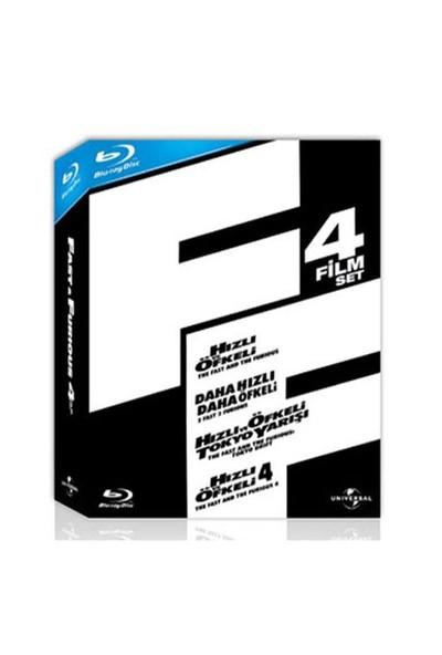Hızlı ve Öfkeli Koleksiyonu Box Set (4 Disc) (Blu-Ray Disc)