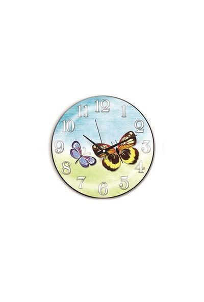 Time Gold Sera Duvar Saati-30cm TG188D12