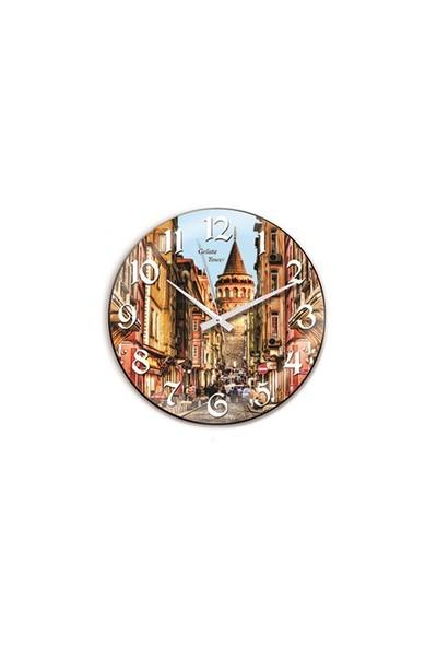 Time Gold Sera Duvar Saati-30cm TG188D4