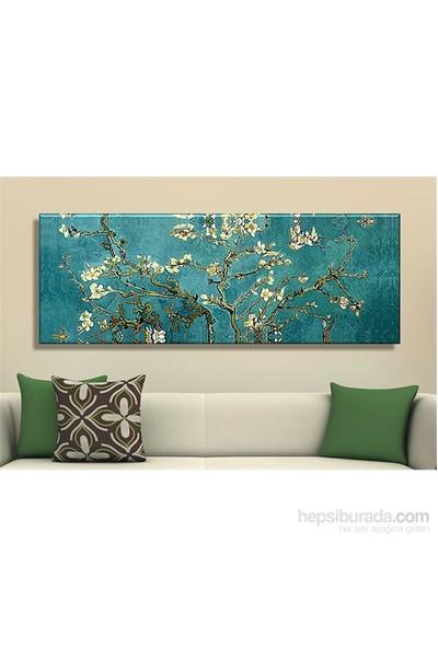 Decobritish Badem Çiçekleri Kanvas Tablo