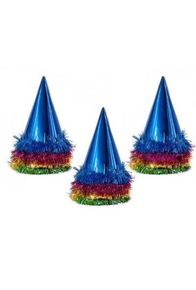 Pandoli 100 Adet Külah Kartondan Yılbaşı Şapkası