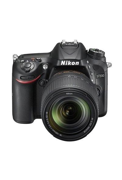 Nikon D7200+18-140Mm Vr Lens Kit Slr Dijital Fotoğraf Makinesi İthalatçı Garantili