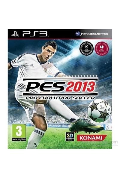 Pes 2013 Ps3 Türkçe Oyunu