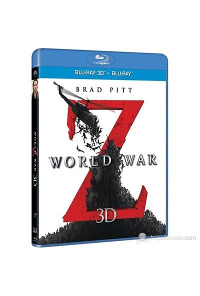 World War Z (Dünya Savaşı Z) (3D+2D Combo Blu-Ray Disc)