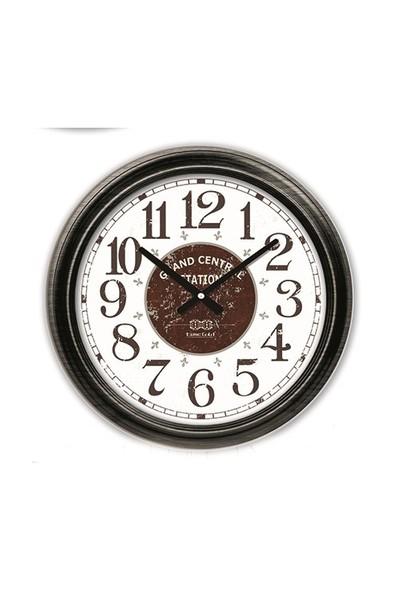 Time Gold Eskitme Duvar Saati-60cm TG2706