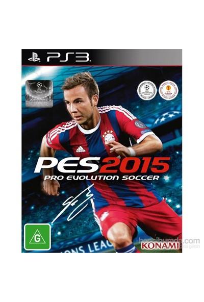 PES 2015 PS3