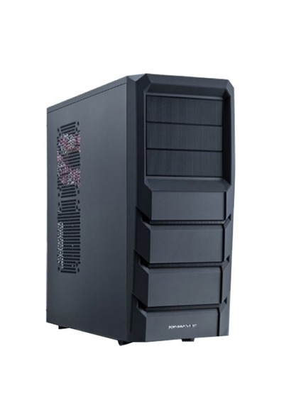 Xigmatek Asgard 382 Pure Black Edition 600W Kasa (CCC-AD34BT-U61)