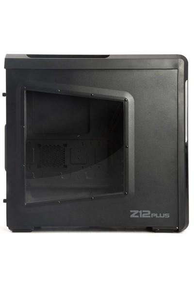 Zalman Z12-PLUS 2xUSB3.0 Pencereli Midi Tower Kasa