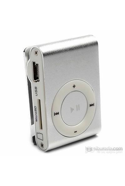 Player PL-101 8GB Mp3 Çalar - Gümüş