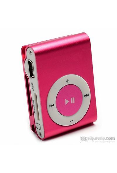 Player PL-101 8GB Mp3 Çalar - Pembe