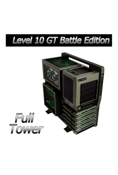 Thermaltake Level 10 GT Battle Edition Oyun Kasası (VN10008W2N)