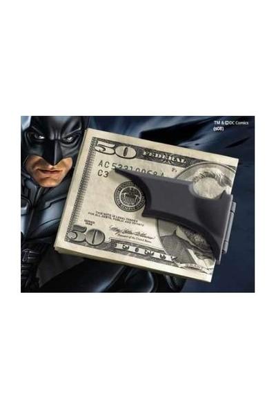 Noble Collection Batman Batarang Katlanabilir Para Klipsi Siyah