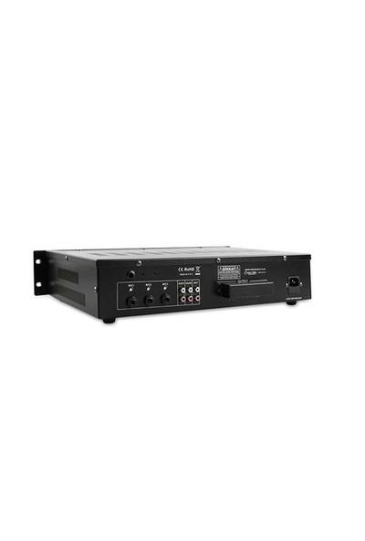 Mikado Hy742m 240W Usb+Sd Destekli Amplifikatör Siyah