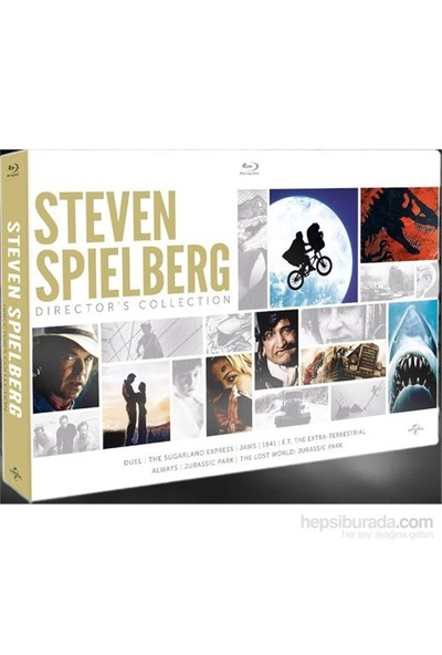 Steven Spielberg Director's Collection (Blu-Ray Disc)