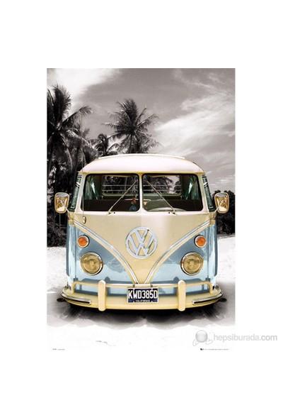 VW Camper Beach Maxi Poster