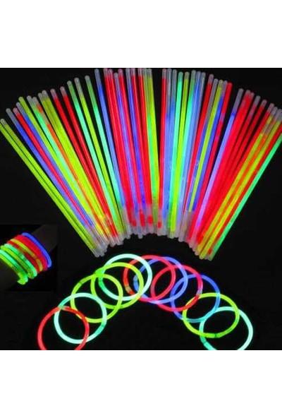 Uygun Glow Stick Fosforlu Kırılan Çubuk 100 Adet