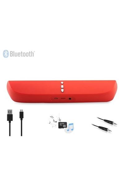 Mikado MDX-30BT 3W*2 Kırmızı TF Kart Destekli Bluetooth Şarjlı Speaker