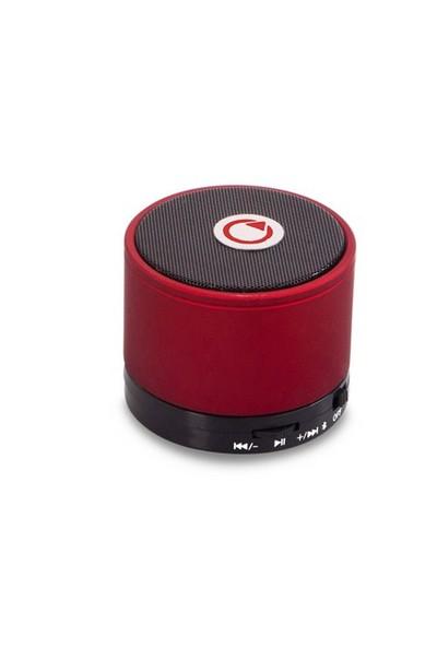 Mikado MD-10BT Kırmızı Bluetooth Speaker
