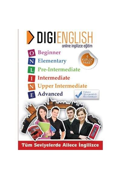 Digi English Online İngilizce Eğitim (6 Kur 12 Aylık Paket)