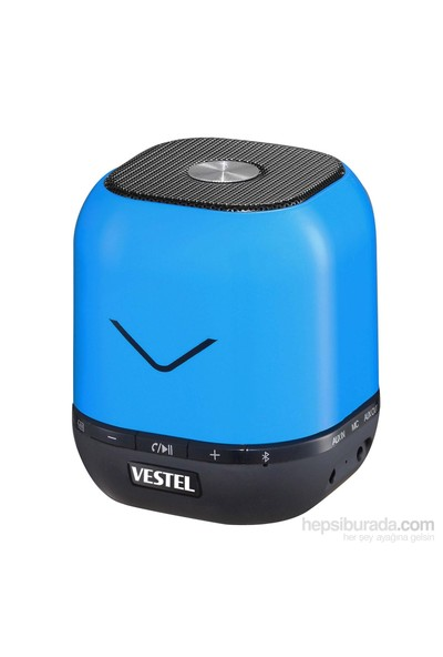 Vestel Desibel H300 Bluetooth Mini Hoparlör (Mavi)
