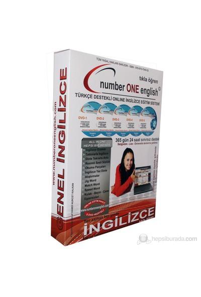 Number One English Temel Genel İngilizce Seti (5 DVD)