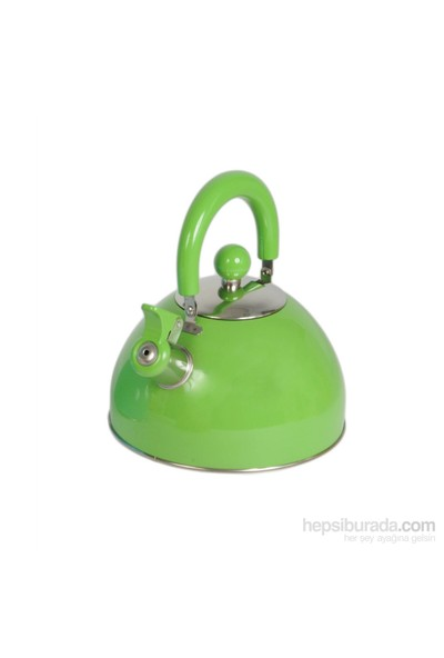 Gold Dekor Çelik Su Isıtıcısı 2,5 Lt. Yeşil