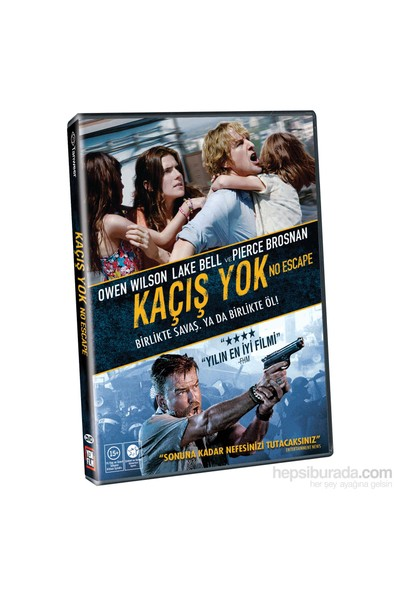No Escape (Kaçış Yok) (DVD)