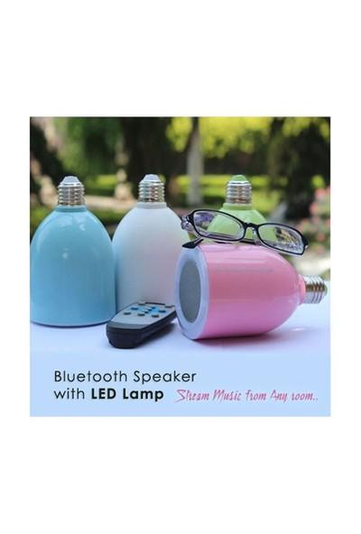 Bluetooth Hoparlör Ve Led Lamba Uzaktan Kumandalı