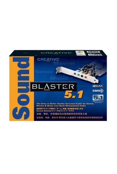 Creative Sound Blaster Live SB Eax 5.1 VX Ses Kartı