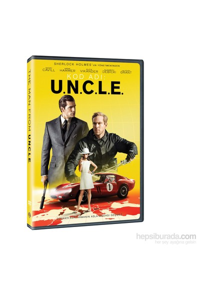 Kod Adı: U.N.C.L.E (Man From U.N.C.L.E) (Dvd)