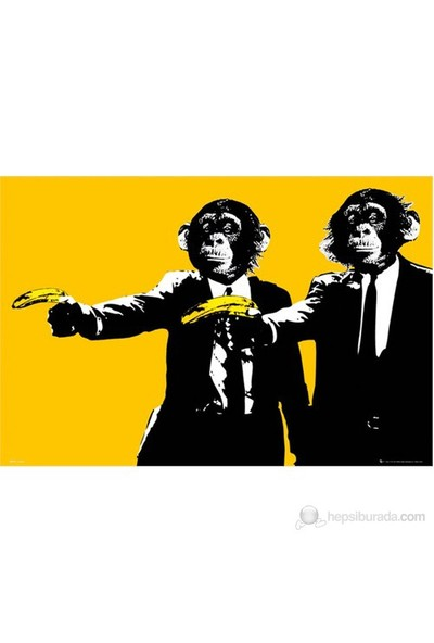 Monkey Bananas Maxi Poster