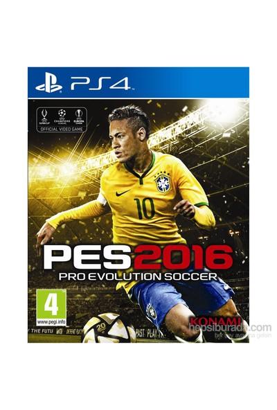 Pro Evolution Soccer 2016 ( Pes 2016 ) PS4